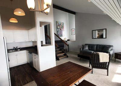 Seattle Sober Living Women - Kitchen and Dining / Living Room